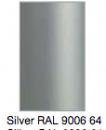 SØLV RAL 9006 64