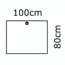100 x 80 cm