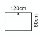 120 x 80 cm