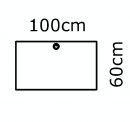 100 x 60 cm