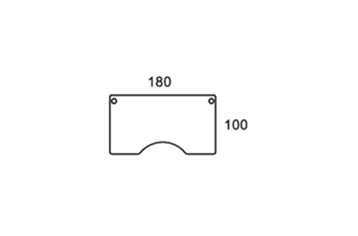 180cm centerbue bordplade