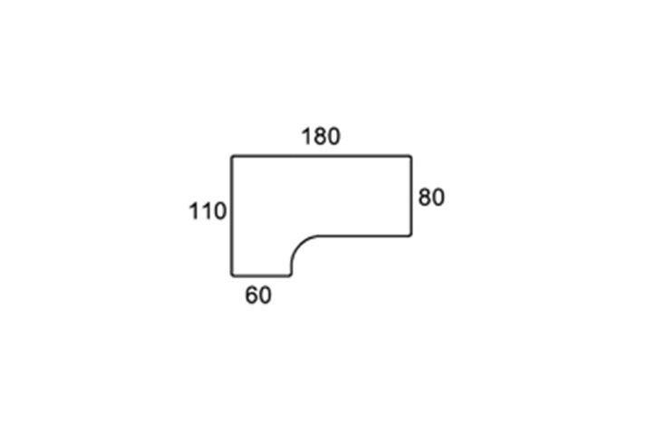 180cm/110 VENSTREVENDT