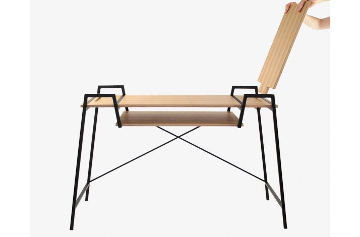 DREAM FENSTERSITZ - Stol, bænk og skrivebord i ét