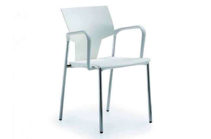 Aktiva stol med armlæn