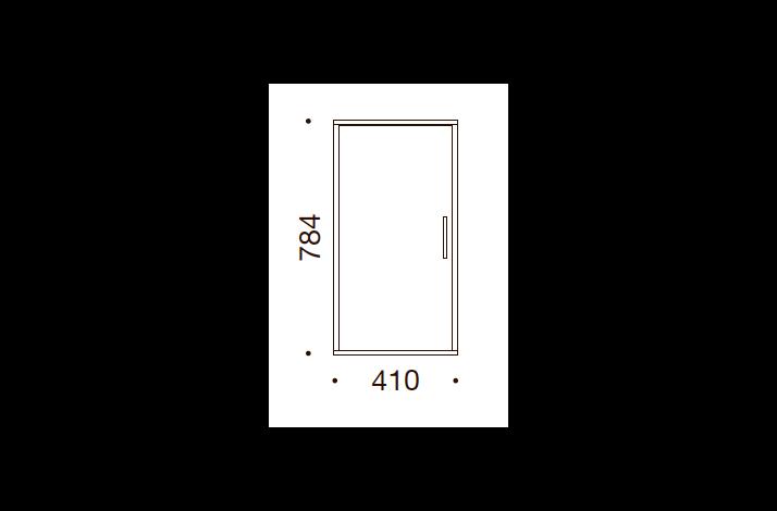 QUADRO OPBEVARING - 78,4x41x35/43