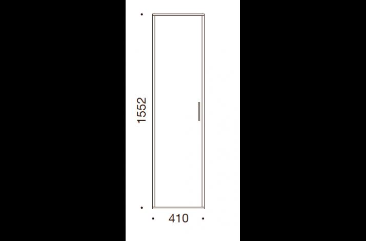 QUADRO OPBEVARING - 152,2x41x35/43