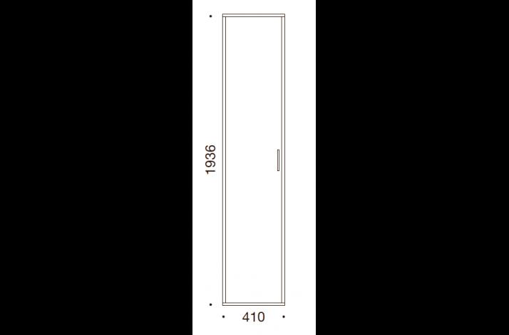 QUADRO OPBEVARING - 193,6x41x35/43
