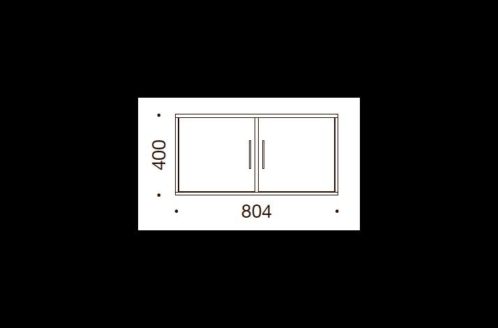 QUADRO OPBEVARING - 40x80,4x35/43