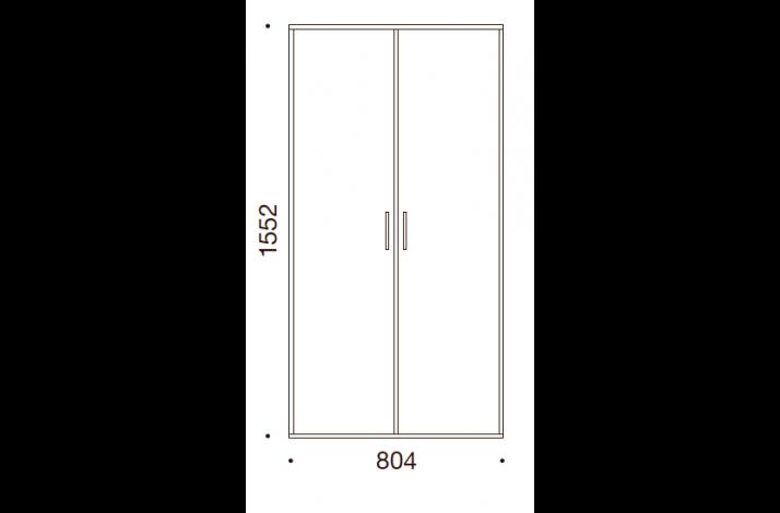QUADRO OPBEVARING - 155,2x80,4x35/43