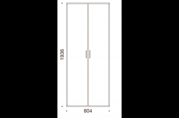 QUADRO OPBEVARING - 193,6x80,4x35/43