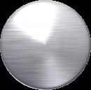 Slebet rustfrit stål