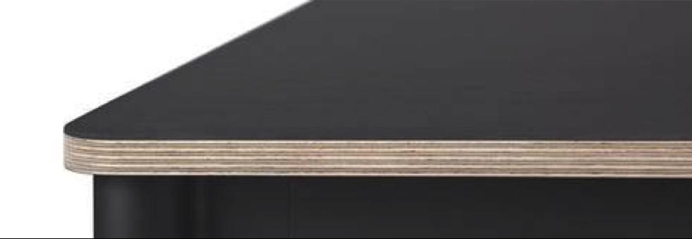 krydsfiner bordplade