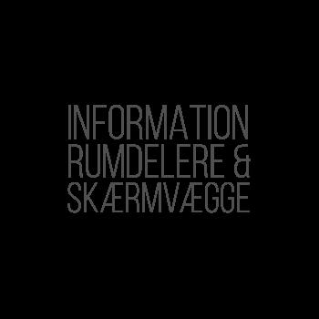 RUMDELERE & SKÆRMVÆGGE INFO